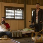 AJ Bowen and Joe Swanberg in THE SACRAMENT
