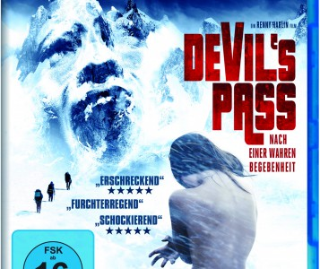 Dyatlov Pass Incident Devils Pass Found Footage Film DVD Poster