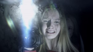 Rebecca hides from Nana in Universal Pictures The Visit.