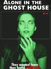 Alone in the Ghost House Film DVD Poster