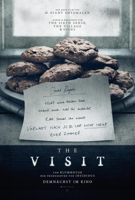 The Visit - Deutsches Poster