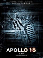 Apollo 18 DVD Found Footage Film Poster