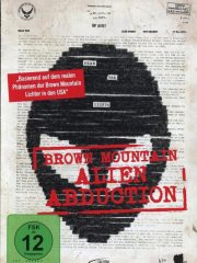 Brown Mountain Alien Abduction Found Footage Film DVD Poster