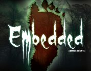 Embedded Found Footage Film DVD Poster