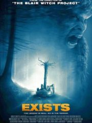 Exists Found Footage Film DVD Poster