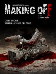 Making Off Found Footage Film DVD Poster