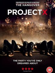 Project X Found Footage Film DVD Poster