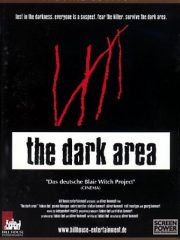 The Dark Area Found Footage Film DVD Poster