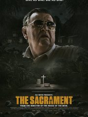 Gene Jones, AJ Bowen and Joe Swanberg in THE SACRAMENT